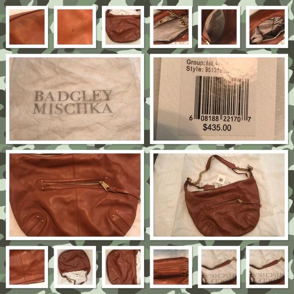 Badgley Mischka Handbags - Leather Boho Crobo